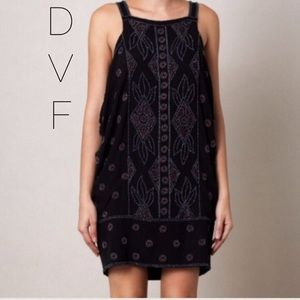 NWOT DVF Nada Beaded Cocktail Dress